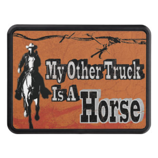 My Other Truck Is A Horse Trailer Hitch Cover