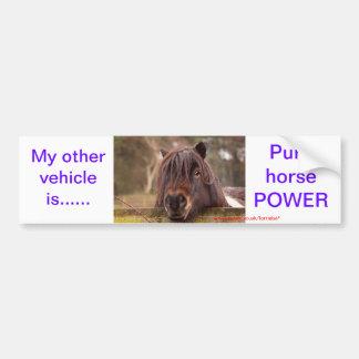 My other vehicle---- car bumper sticker