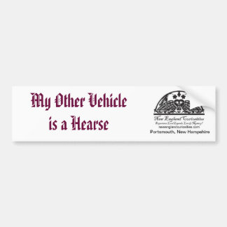 My Other Vehicle is a Hearse Bumper Sticker