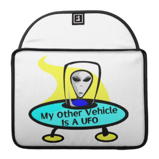 My Other Vehicle Is A UFO Sleeve For MacBook Pro