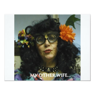 MY OTHER WIFE CARD