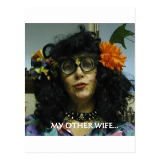 MY OTHER WIFE POSTCARD