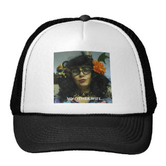 MY OTHER WIFE TRUCKER HAT