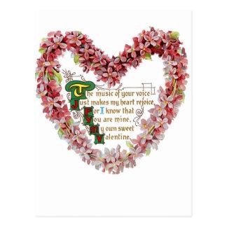 My Own Sweet Valentine Postcard