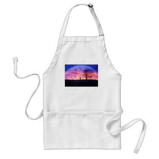 My Own Universe Adult Apron