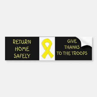 My Own Yellow Ribbon Bumper Sticker