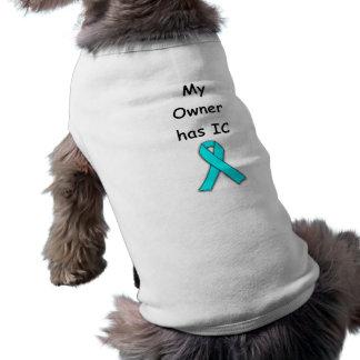 My Owner has IC Doggie Tee