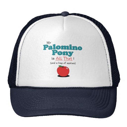 My Palomino Pony is All That! Funny Pony Trucker Hats