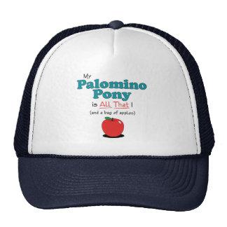 My Palomino Pony is All That! Funny Pony Trucker Hat