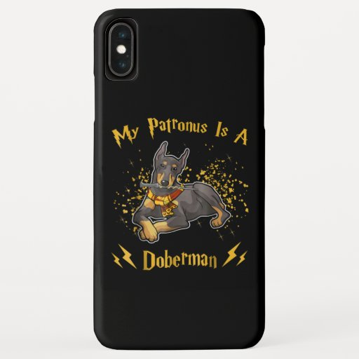 My Palronus Is A Doberman iPhone XS Max Case