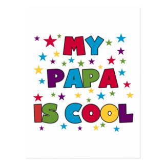 My Papa is Cool T-shirts and Gifts Postcard
