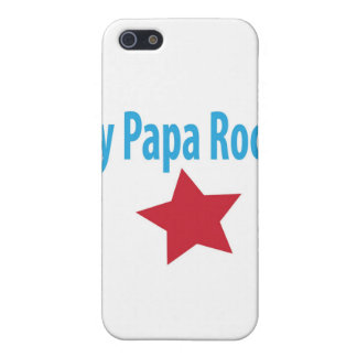 My papa rocks cover for iPhone SE/5/5s
