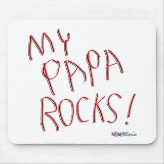 My Papa Rocks! Mousepad