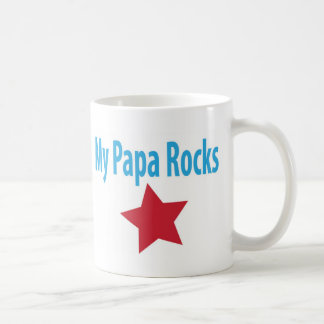 My papa rocks coffee mugs