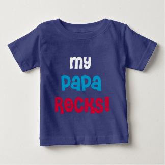My Papa Rocks T Shirt
