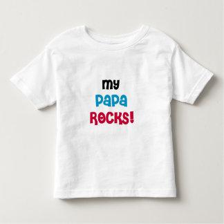 My Papa Rocks Tee Shirt