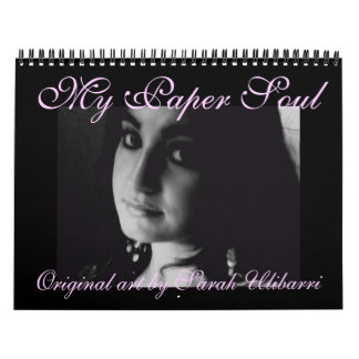 My Paper Soul calendar