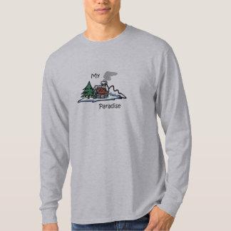 My Paradise Cabin Design T-Shirt