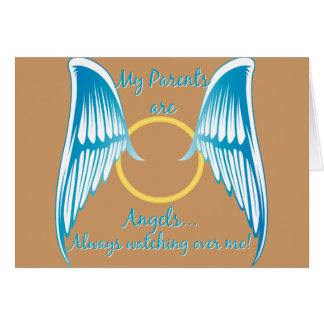 My Parents are Angels Card