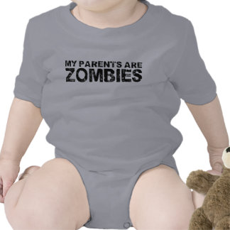 My Parents are Zombies T Shirt