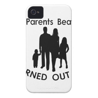 My Parents Beat Me I Turned Out Fine iPhone 4 Case