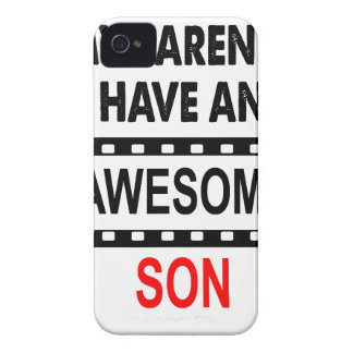 My Parents Have An Awesome Son iPhone 4 Case