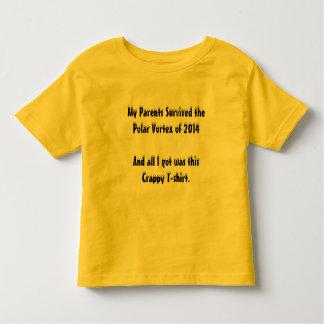 My Parents Survived The Polar Vortex of 2014 Toddler T-shirt
