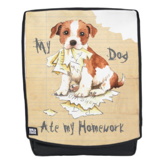 My Parson Russell Terrier Ate My Homework Backpack