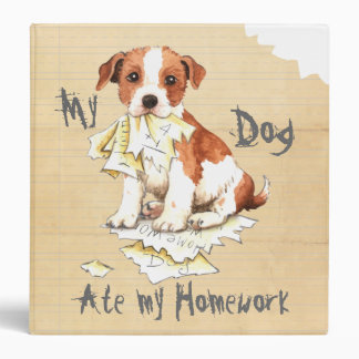 My Parson Russell Terrier Ate My Homework Binder