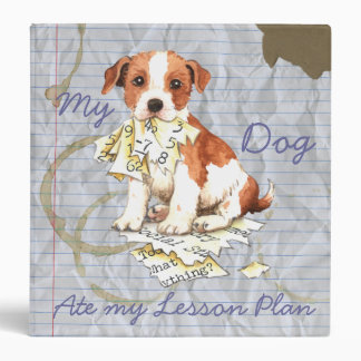 My Parson Russell Terrier Ate My Lesson Plan Binder