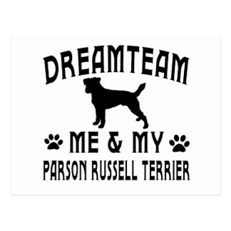My Parson Russell Terrier Dog Postcard