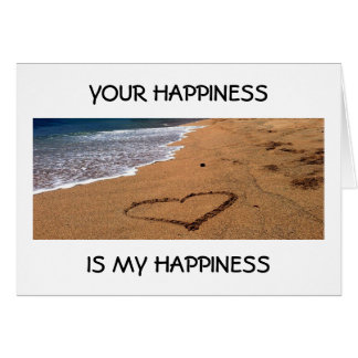 MY PARTNER IN LIFE-YOUR HAPPINESS IS MY HAPPINESS CARD
