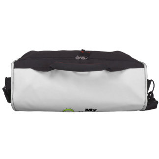 My Partner is a Strong Survivor of Lymphoma Laptop Messenger Bag