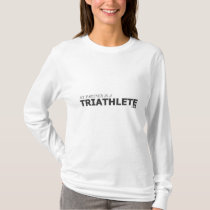 MY PARTNER IS A TRIATHLETE 140.6/GYNECOLOGIC-OVARI T-Shirt