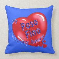 My Paso Fino Has My Heart Pillows
