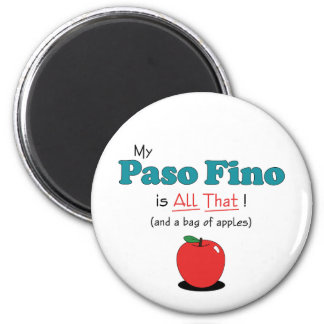 My Paso Fino is All That! Funny Horse Fridge Magnets