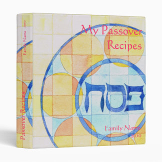 My Passover Recipes Binder