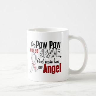 My Paw Paw Is An Angel Lung Cancer Coffee Mug