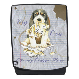 My PBGV Ate My Lesson Plan Backpack