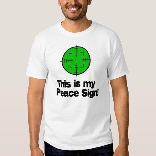 My Peace Sign! T-Shirt