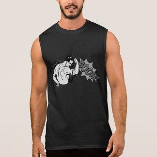 My peaks Go BOOM! Men's sleeveless gym T-shirt