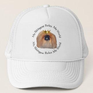 My Pekingese Rules My World Trucker Hat