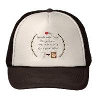 My Pembroke Welsh Corgi Loves Peanut Butter Trucker Hat