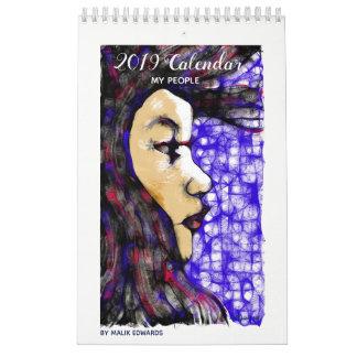 My People - 2019 Calendar