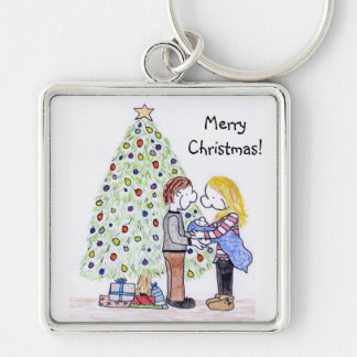 My People Family Christmas Keychain