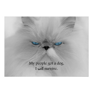 My People Got a Dog. I Will Survive. Poster