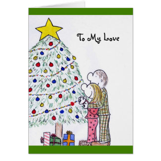 My People Merry Christmas To My Love Card