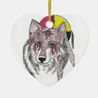 My People My Heart Ceramic Ornament