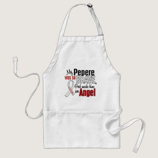 My Pepere Is An Angel Lung Cancer Adult Apron