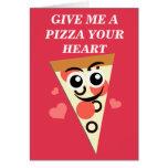 My Pepporoni Valentine Greeting Card